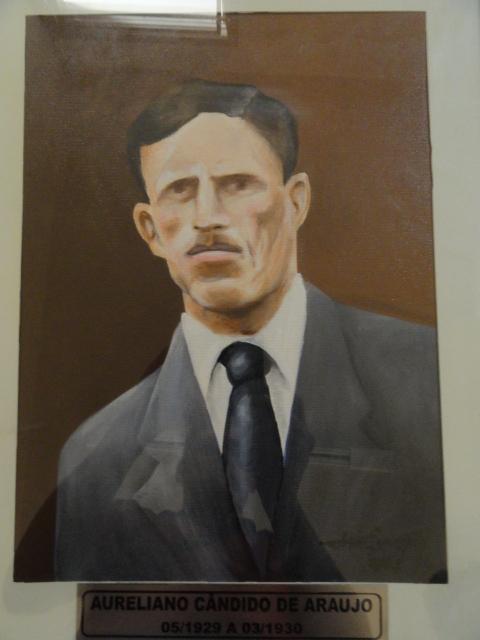 Aureliano Cândido de Araújo - Mai/1929 - Mar/1930