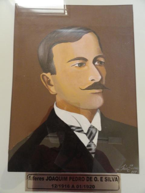 Alferes Joaquim Pedro de O. e Souza - Dez/1916 a Jan/1920