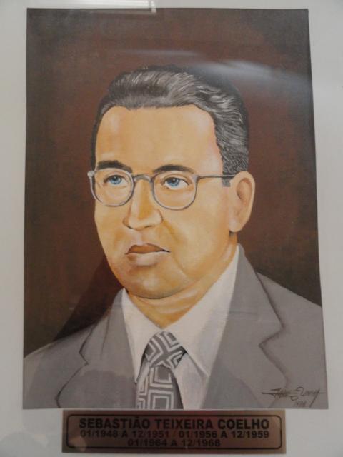 Sebastião Teixeira Coelho - Jan/1948 a Dez/1951 - Jan/1956 a Dez/1959 - Jan/1964 a Dez/1958